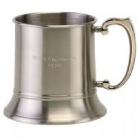 Satin Tankard Stainless Steel 20oz